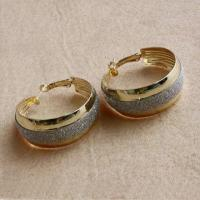 Shining Gold Color Hoop Earrings for Women, Best-seller/Unique, Nickle-/Lead-/Cadium-free Manufactures