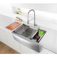 China Farmhouse Apron Front Stainless Steel Kitchen Sink Kitchen Sinks Stainless Steel on sale