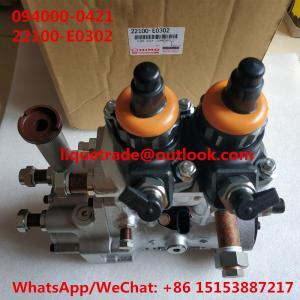 DENSO fuel pump 094000-0420 , 094000-0421 , 094000-0422 for HINO E13C 22100-E0300, 22100-E0301, 22100-E0302 Manufactures