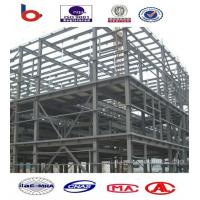 High Strength Steel Building Structures for Workshop, Airports, High - Rise Buildings Manufactures