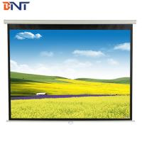 high quality 136 inch electric projector screen  with remote control Manufactures