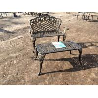 China Outdoor Leisure Cast Iron Patio Dining Sets & Table Bistro Set Customized on sale