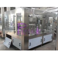 Auto Beverage Filling Machine , Non-Carbonated Drink Filling Line Manufactures