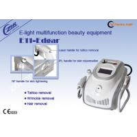 1mhz Rf Ipl Laser Permanent Hair Removal Tattoo Removal Machine Ac220v / 50hz Manufactures