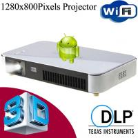Wholesale Full HD 3D Android Projector WiFi Wireless With HDMI USB VGA For Party Office Manufactures