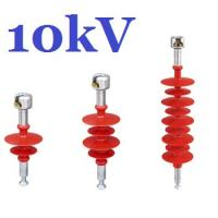 High Tension Composite Suspension Insulator , 10kv Overhead Line Insulators Manufactures