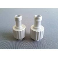 Silver Anodized CNC Machined Aluminum Parts Powder Coating Customized Color Manufactures