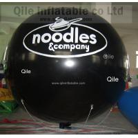 red  Inflatable Advertising Balloons For Commercial Advertising 2.5m Diameter Manufactures