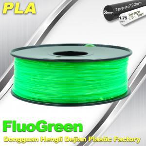 PLA Desktop pla 3d printing material Fluorescent  Filament for Markerbot Manufactures