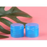 Transparent Blue Shampoo Bottle Cap Butterfly Type Heat Resistance For Lotions Manufactures