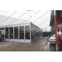 Outdoor Exhibition Tent/PVC Fabric Roof Exhibition Canopy Glass Walls Manufactures