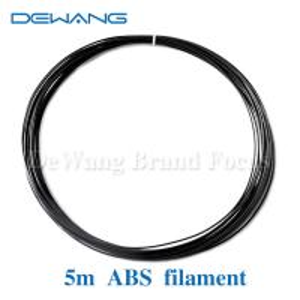 Black ABS 3D Printer Filament 1.75mm , makerbot abs filament Manufactures