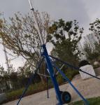 teleskopik ustun telescopic mast push up sectional mast 6m to 15m aluminum mast light weight radio antenna Manufactures