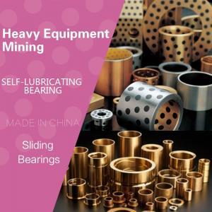 Heavy Equipment / Mining MFGBushes Tight Tolerance Precision Manganese Bronze Flanged Bronze Graphite Plugged Bushings Manufactures