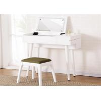 Economic White Gloss Dressing Table , Lady Hotel Contemporary Dressing Table Manufactures