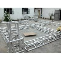 Aluminum truss , 6082-T6 Stage Lighting Truss For Exhibition Stand Build And Stage Truss Manufactures