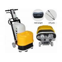 Single Phase Marble Stone Floor Polisher Machine With Magnetic Discs / 6 Heads Manufactures