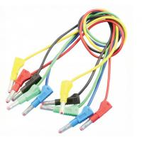 Audio & Video use Banana to Banana Test Leads 4mm Custom Banana Cables Manufactures