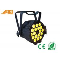 18 x 15w LED Par Can Light RGBWA 5 in 1 Led Par 64 Light / DJ Stage Lights DMX 512 Control Manufactures