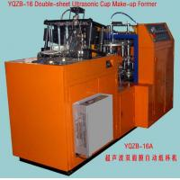 Model YQZB-16A Double-sheet Ultrasonic Paper Cup Make-up Machine Manufactures