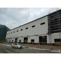 Anti - Rusty Paint S355 Workshop Steel Structure 5000㎡ With Windows And Doors Manufactures