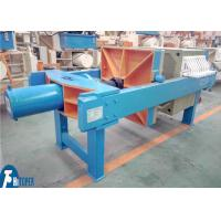 Polypropylene Plate Industrial Filter Press Wastewater Treatment Equipment Usage Manufactures