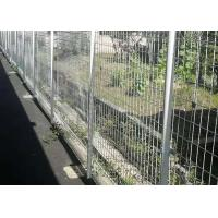 PVC Coated Welded Wire Fencing / Wire Mesh Garden Fence For Public Places Manufactures