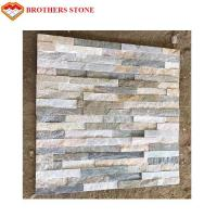 Eco Friendly Artificial Culture Stone , Classy Clutter Faux Brick Wall Panels Manufactures