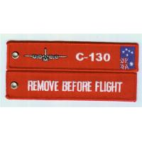 Embroidered C 130 Remove Before Flight, Key Tag/Bag Tag with Australian Flag Manufactures