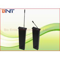 Matte Black Aluminum LCD Motorized Lift , Conference Audio System Microphone Motorized Lifting Mechanism Manufactures