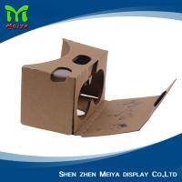 OEM LOGO Printed 3D VR Cardboard Boxes , VR Headset Video Glasses Manufactures