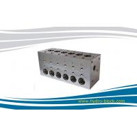 Hydraulic pressure oil plate block for boat logic valve Manufactures