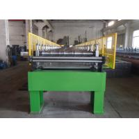 Steel Structure Floor Deck Roll Forming Machine / Corrugated Sheet Making Machine Manufactures