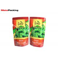 Aluminum Foil Stand Up Fresh Vegetable Plastic Packaging Bags For Green Pepper Manufactures
