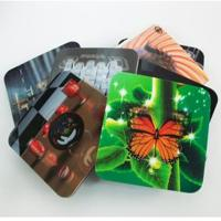2020 fashion christmas 3D Lenticular greeting cards,glitter printing cards 3D lenticular postcard Manufactures