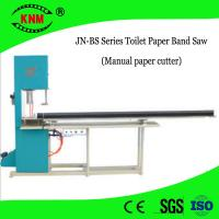 China Manual toilet paper cutter toilet roll paper band saw machine for sale on sale