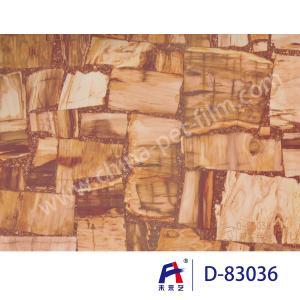 Marble Series Decorative PVC Ceiling Film , Pvc Stretch Ceiling Film D -83036 Manufactures