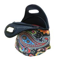 China Custom thermo insulated neoprene lunch picnic cool cooler bag on sale