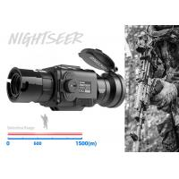 Buy cheap 50mm Lens Lightweight Thermal Clip ON 1500m Detection Range Military Use from wholesalers