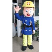 handmade popular cartoon character Fireman mascot uniform costumes Manufactures
