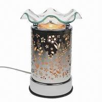 Electric touch aroma lamp oil, tart Warmer metal to flowers Manufactures