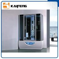 Quality Multifunctional Rectangular Shower Enclosure With Whirlpool Tub Computer Control for sale