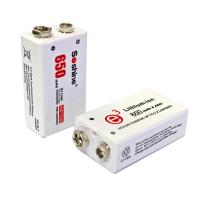 Soshine New 9V Li-po Rechargeable Battery: 650mAh 7.4V Manufactures