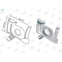 Twist Clip Cable Hanging System 1 /4 - 20 Thread Size White T - Bar Attachment Clip Manufactures