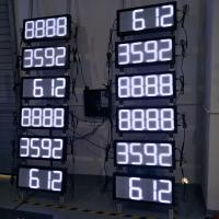 LED gas price sign digital advertising outdoor led price sign petrol gas station screen Manufactures