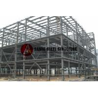 Buy cheap Q345 light steel structure modular building metal construction from wholesalers