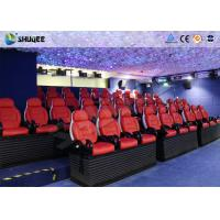 Virtual Reality Electric 5D Simulator For 5D Movie Theater With 16 Kinds Of Effect Manufactures
