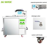 28khz DPF Dirty Diesel Particulate Ultrasonic Filter Cleaning Machine 360 liters with 9KW Heating Manufactures