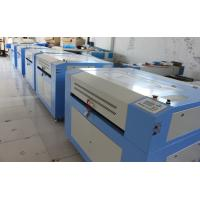 China Linear Guide Rail CO2 Laser Engraving Machine For Leather / Paper / Plastic / Acrylic on sale