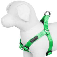 Classy Style Nylon Dog Harness No Pull Adjustable Size Multicolored Options Manufactures
